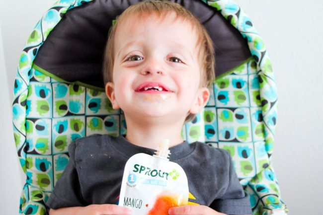 When It Comes To Baby Food- Turn It Over