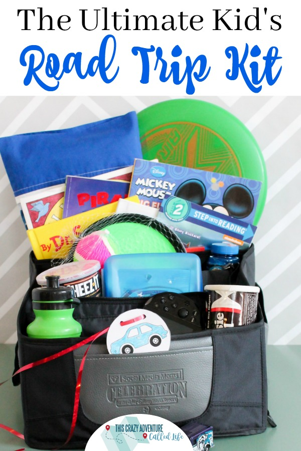 Road trips with kids can make a parent want to pull their hair out. Fear not we have the perfect road trip kit filled with kids road trip activities and snacks. #roadtrip #Snacks #kidsactivities #travelwithkids #familyvacation