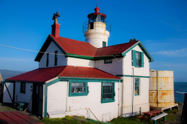 Crescent City, CA has Battery Point Lighthouse