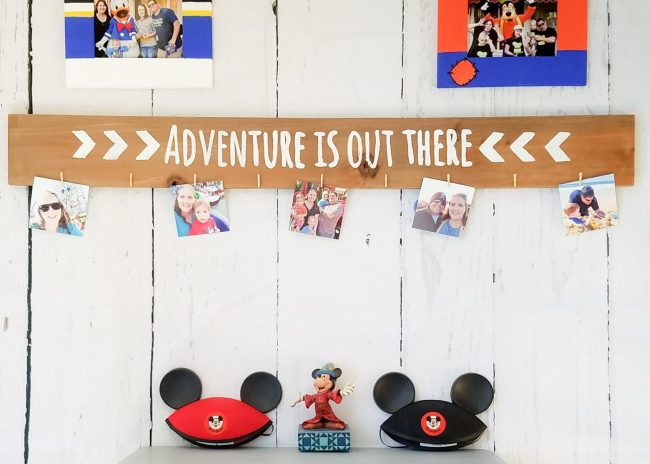 Easy Hand Painted Wood Photo Display