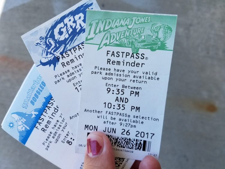 Disneyland's Digital Fastpass