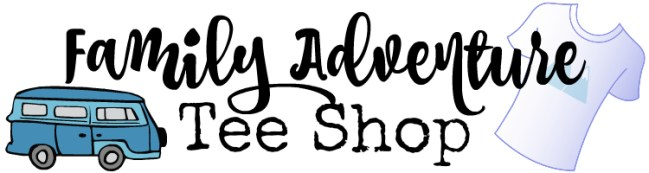 Check Out Our Family Adventure Tee Shop (and A Giveaway)