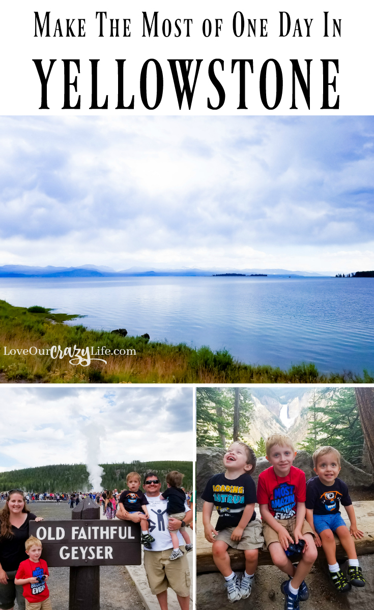 You can do a lot in Yellowstone in just one day. Check out this itinerary from our 6 hour visit. . . Yellowstone | National Park | Hiking | Outdoors | Travel | Vacation | Road Trip | Travel with Kids | Old Faithful | Itinerary