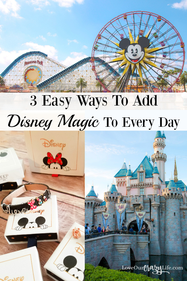 How to keep Disney Magic with you even when not at Disneyland or Walt Disney WorldTravel | Fashion | Jewelry | Disney | Keep Collective | Disney Ideas