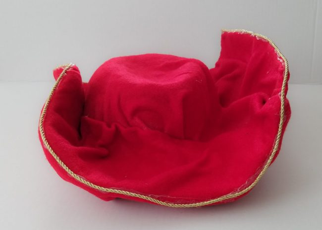 Captain Hook Costume Hat