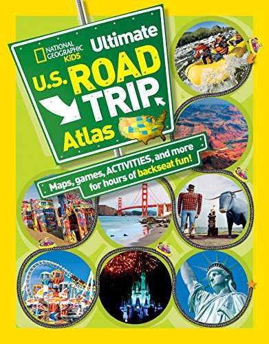 Travel gifts for kids inclue an atlas