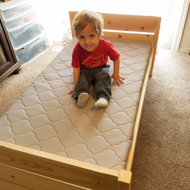 DIY Toddler Bed