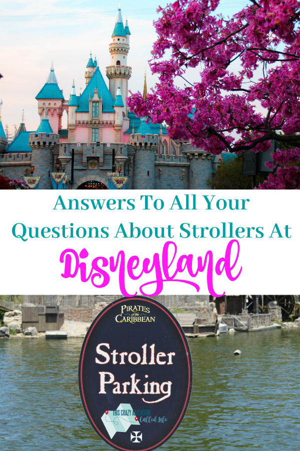 Disneyland with kids includes Disneyland with strollers. Get answers to all your Disney Stroller questions in this post. #Disneyland #Travelwithkids #Familyvacation #California