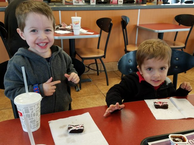Kids don't get birthday parties, just brownies at Jack in the Box