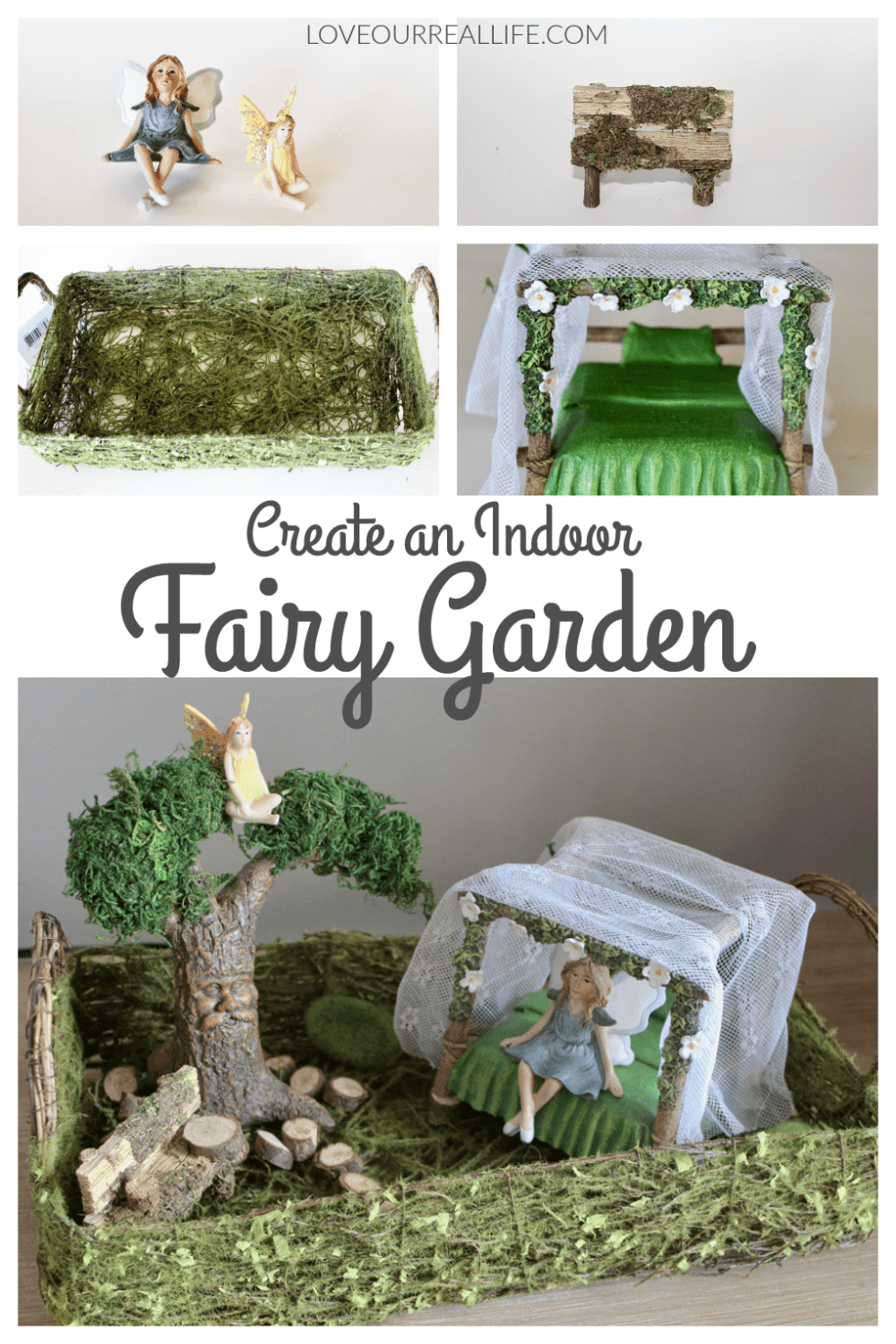 Create An Indoor Fairy Garden