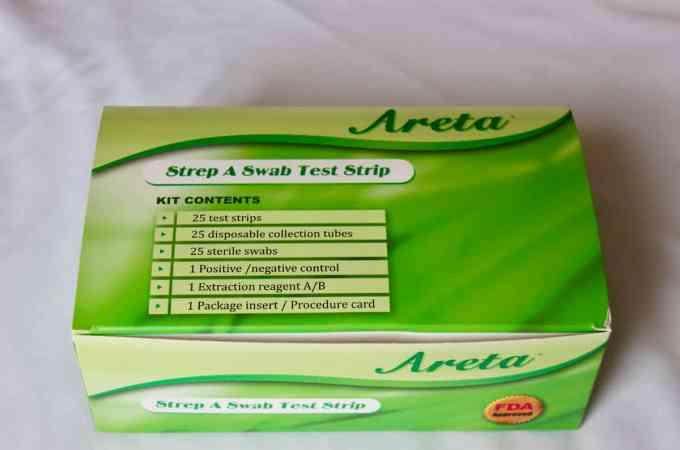 Strep Throat Test Kit