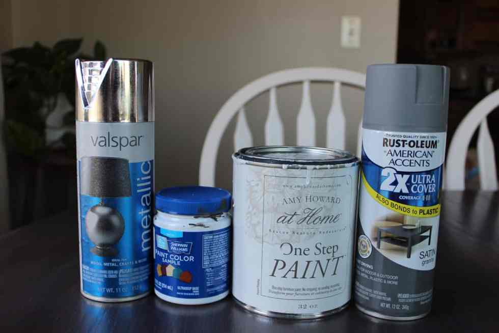 Painting candlesticks, paint, chalk paint, spray paint, Amy Howard, Rustoleum, candlestick makeover