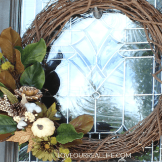 DIY Wreath for the Front Door
