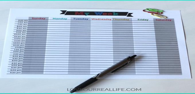 weekly calendar, calendar printable, back-to-school calendars, free printables