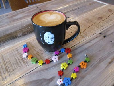 A coffee bar as messenger of love