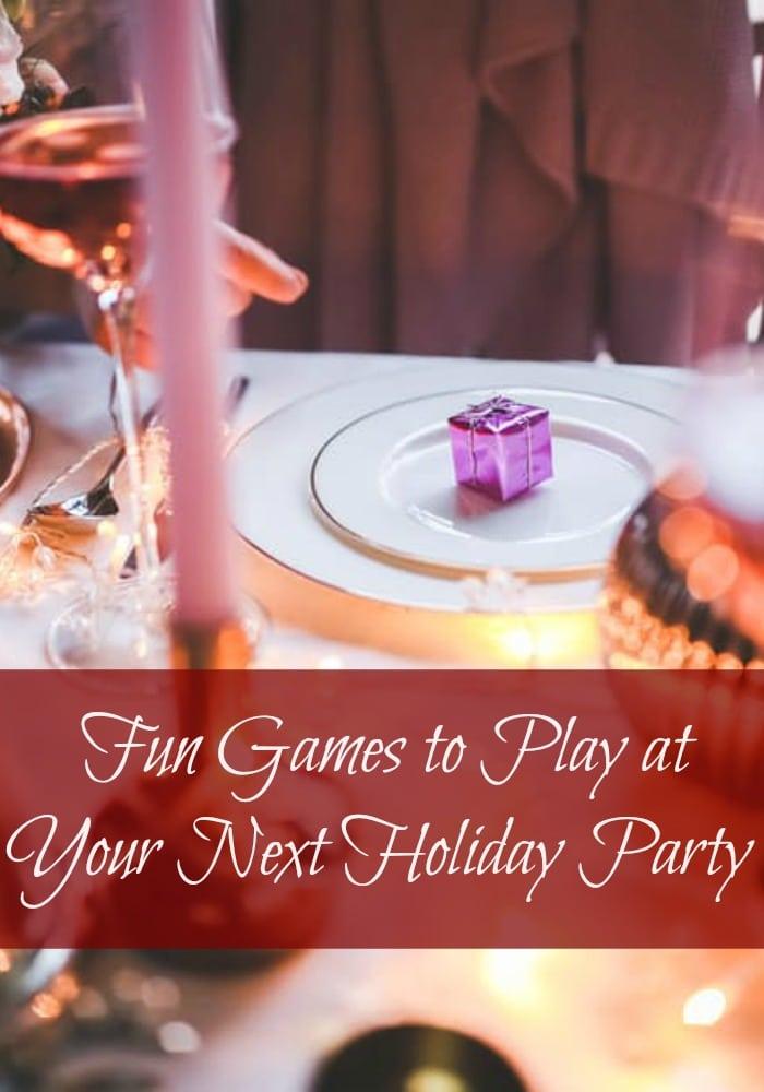 Christmas Party Jokes Games