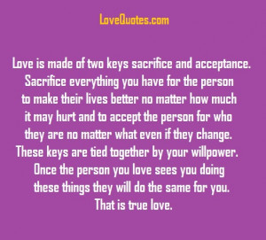 Love Is Made Of Two Keys