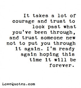 It Takes A Lot Of Courage