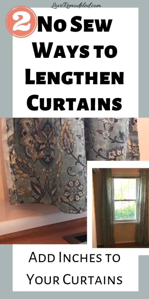 curtains too short 2 easy ways to
