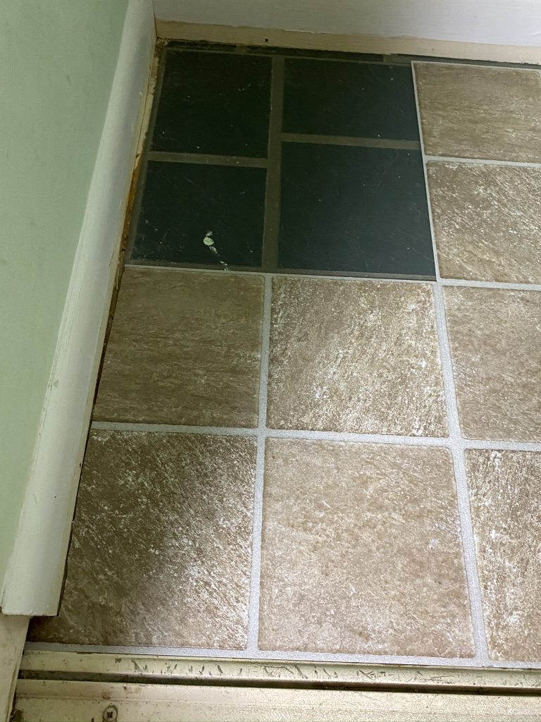 peel and stick floor tile love remodeled