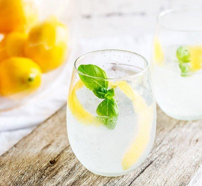 Lemon-and-Basil-Gin-and-Tonic