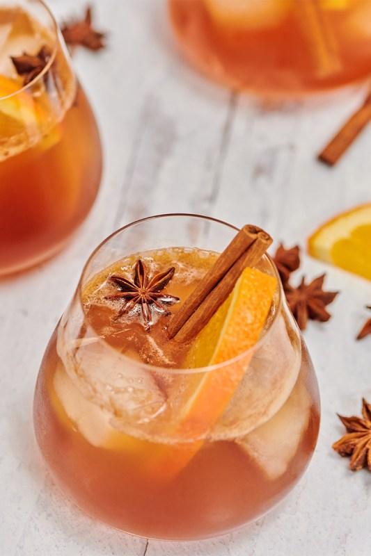 Vanilla Chai Old Fashioned