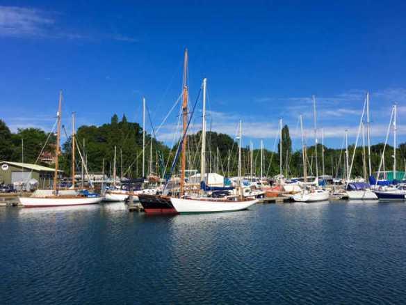 Sailing opportunities June 2018