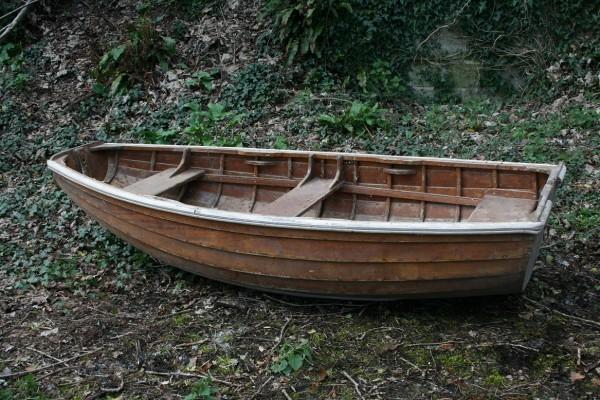 the dinghy