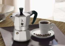 Stove top coffee machines