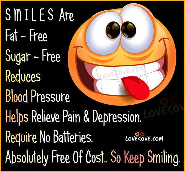 Keep Smiling Funny Quote For Fb Whatsapp