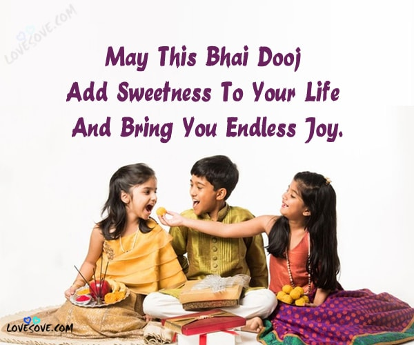 happy bhai dooj, Bhaidooj special 2line status