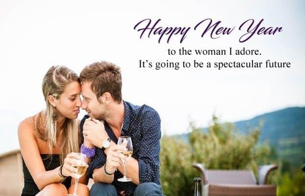2 line Romantic new year shayari, 2020 happy new year english sayeri image, Happy new year 2020 miss you heart thouch shayri satus in hindi for girlfriends, happy new year 2020 shayari english