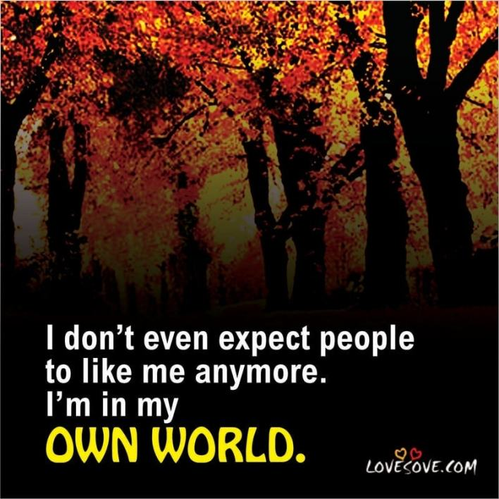 i dont even expect people attitude image lovesove - scoailly keeda