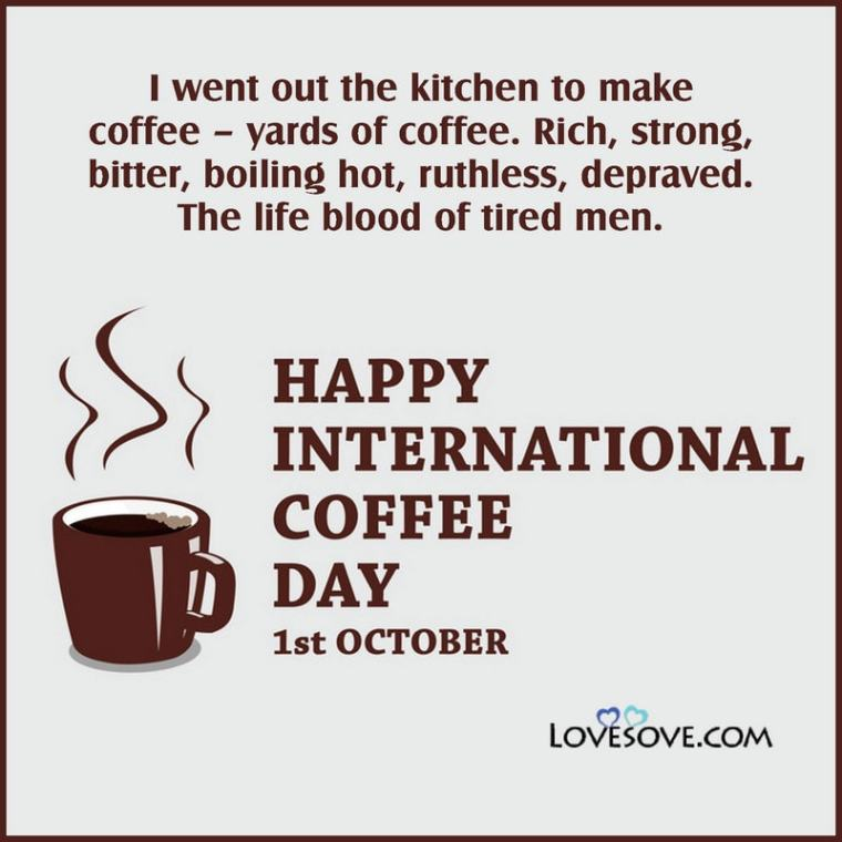 International Coffee Day Status Quotes Messages Theme Wishes Shayari Mall