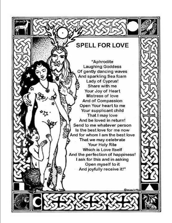 LOVE SPELL RITUALS FREE