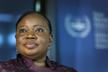 Prosecutor Fatou Bensouda of the International Criminal Court (ICC) attends a news conference before the trial of Kenya's Deputy President William Ruto and Joshua arap Sang in The Hague September 9, 2013. REUTERS/Michael Kooren