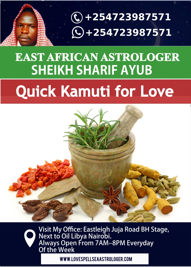 Quick Kamuti for Love Explained by Mganga wa Mapenzi Dr. Sharif Ayub