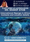 International Mganga in Africa Contacts and Location details