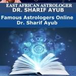 Famous Astrologers Online Dr. Sharif Ayub