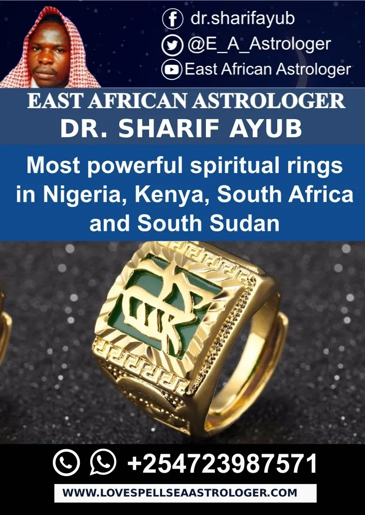 Most powerful spiritual rings in Nigeria, Kenya, South Africa and South Sudan