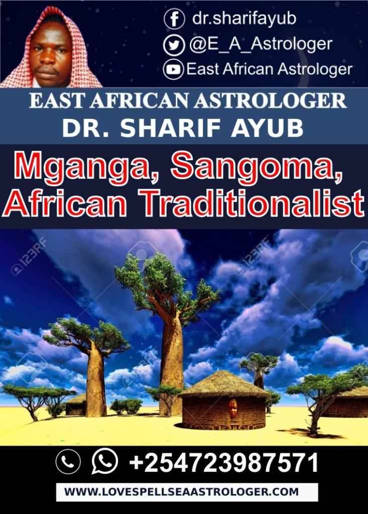 Mganga, Sangoma, African Traditionalist