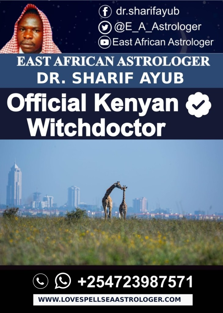 Official Kenyan Witchdoctor