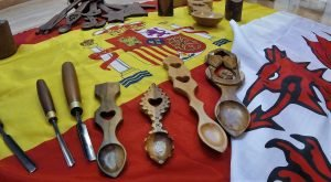 Sharing Welsh lovespoons with the wider world.