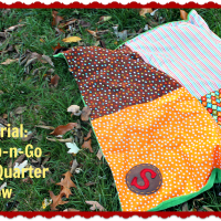 Grab-n-Go Fat Quarter Blanket: A Tutorial