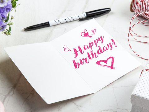 open-birthday-greeting-card-near-pen-(lovestatuswhatsapp.com)