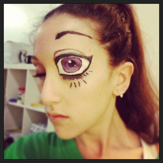 What I Did Today Show Anime Eyes Makeup Stagemakeup By Ivonne