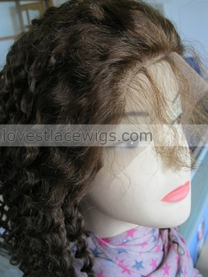 Jerry Curl 100 Human Hair Wig On Sale US 18400