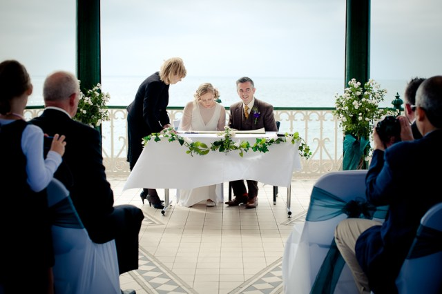 Brighton Wedding Ceremony Bandstand