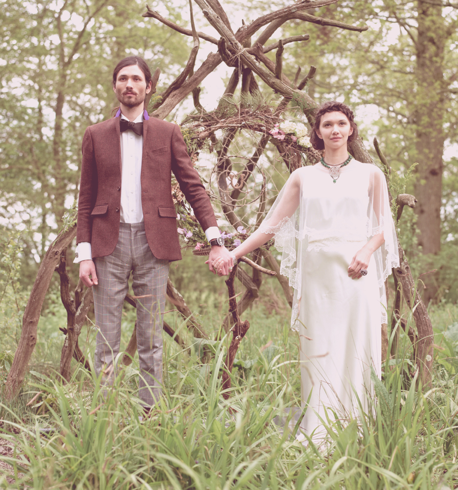 Union Love Tale A Pagan Inspired Bridal Inspiration