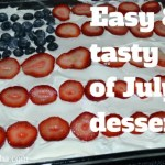 Easy and tasty 4th of July dessert!